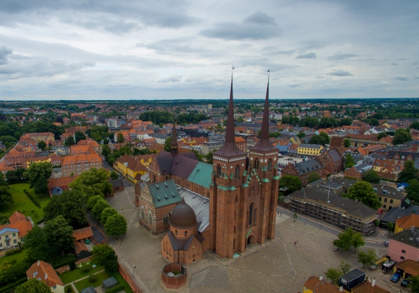 Roskilde_Cathedral_aerial